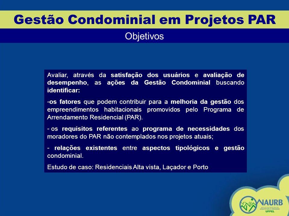 Gestão Condominial em Projetos PAR