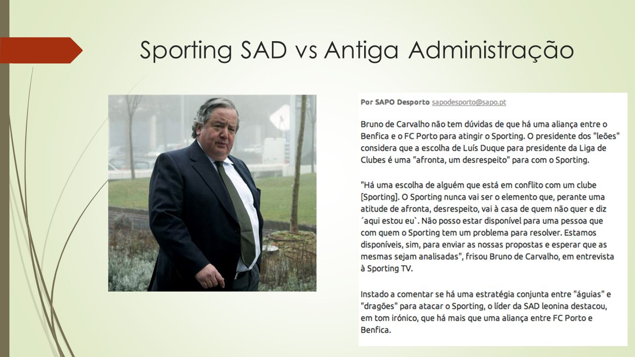 Sporting SAD vs Antiga Administração
