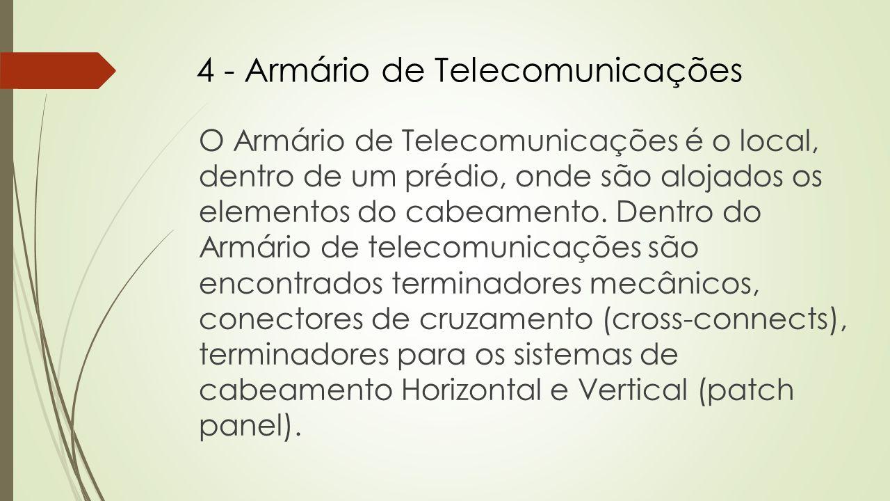 4 - Armário de Telecomunicações