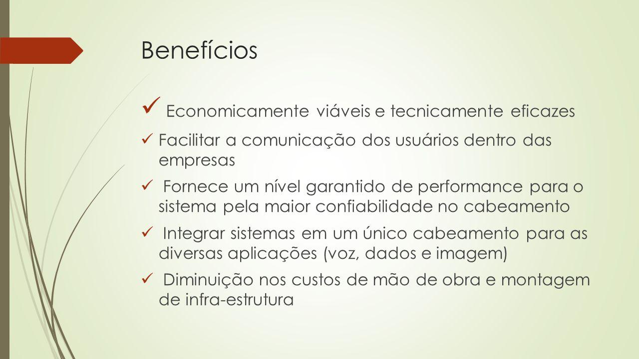 Economicamente viáveis e tecnicamente eficazes