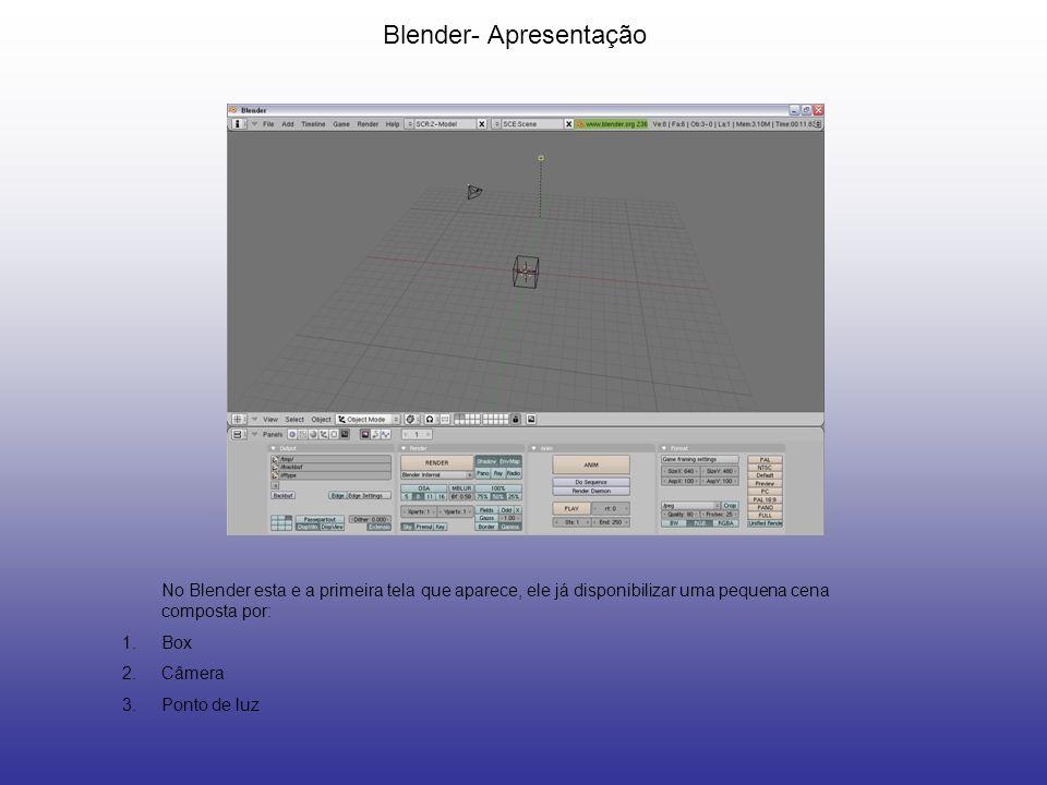 Blender- Apresentação
