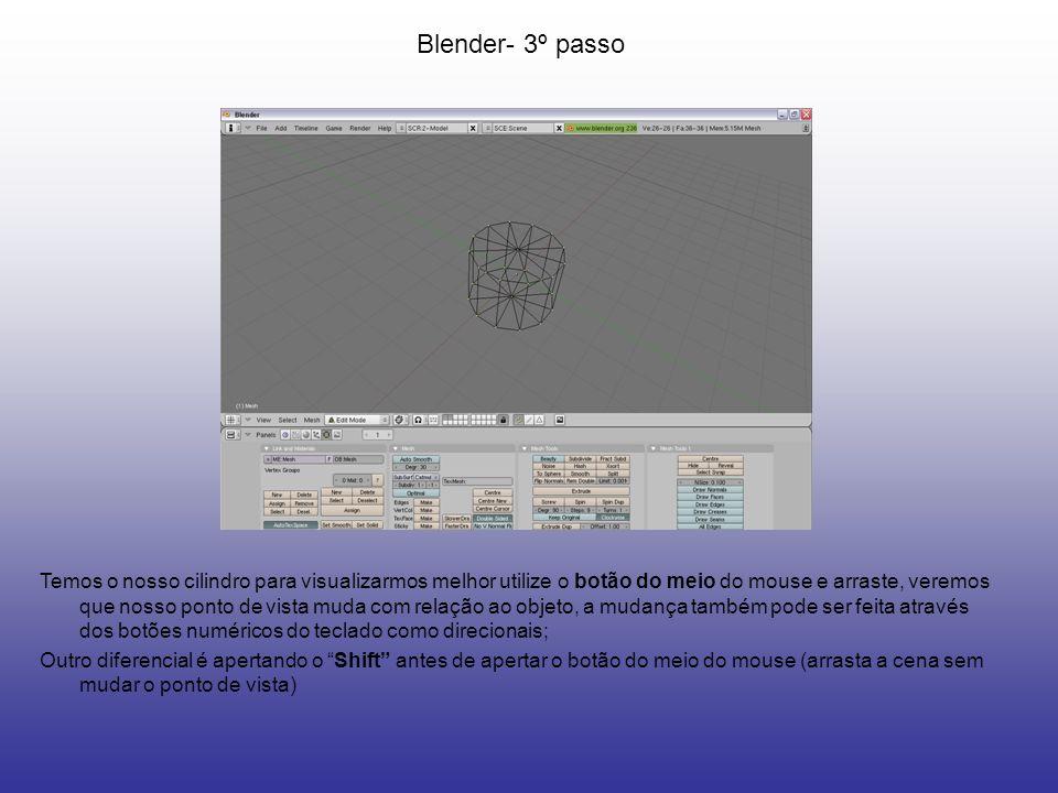Blender- 3º passo