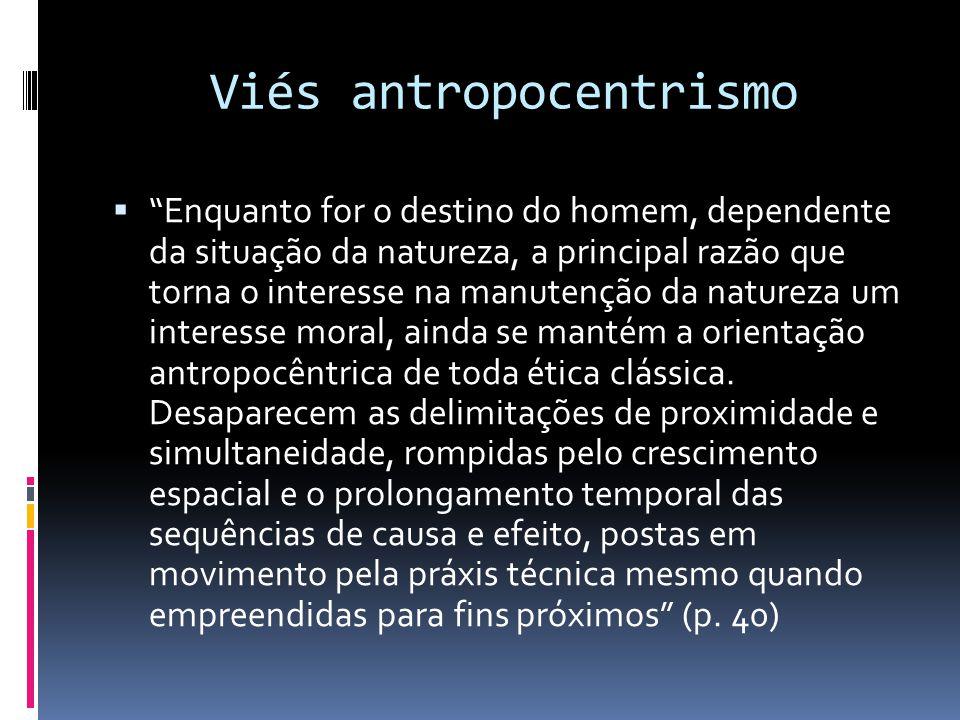 Viés antropocentrismo