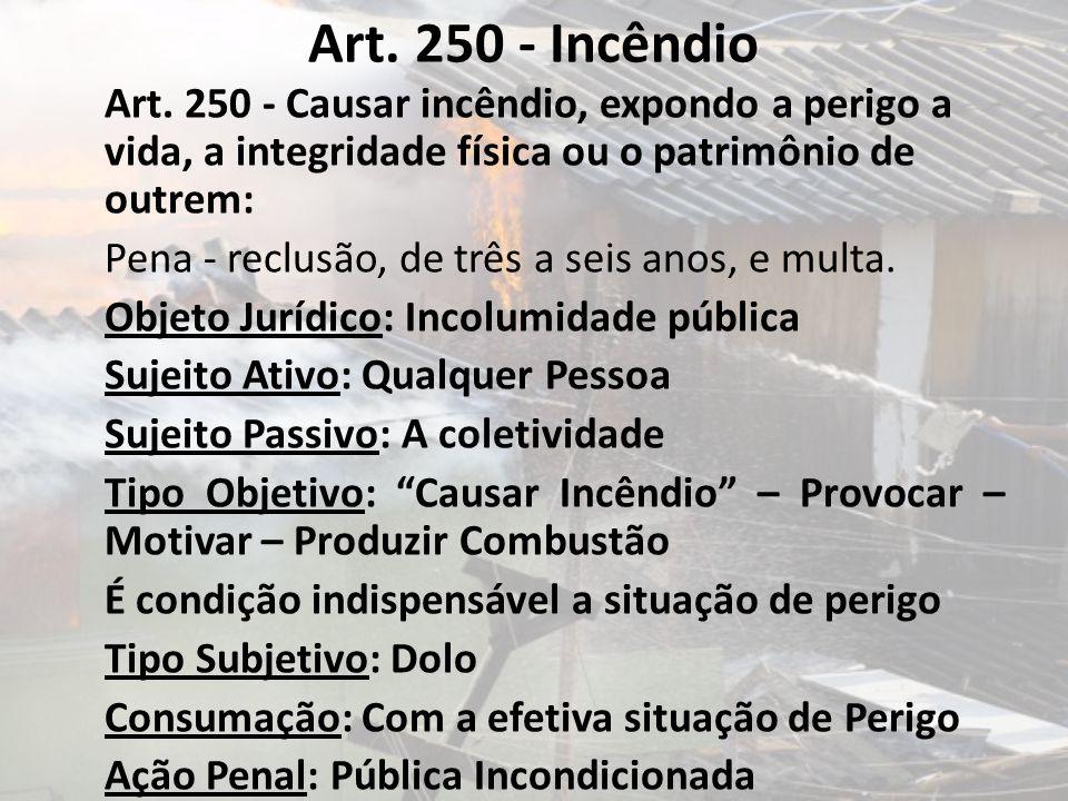 Art. 250 - Incêndio