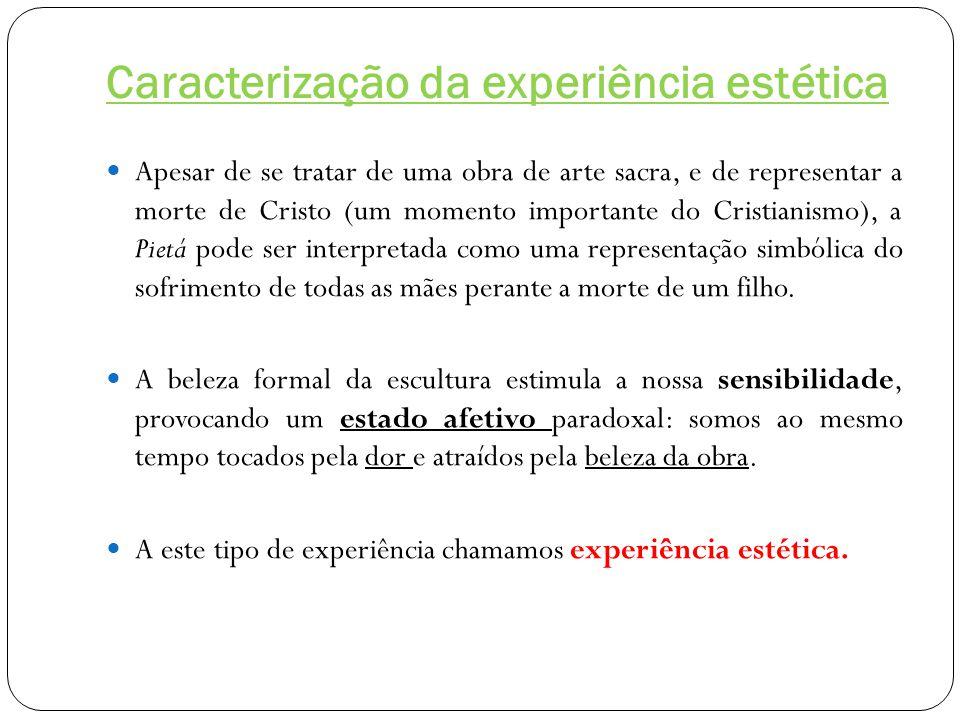 Caracterização da experiência estética