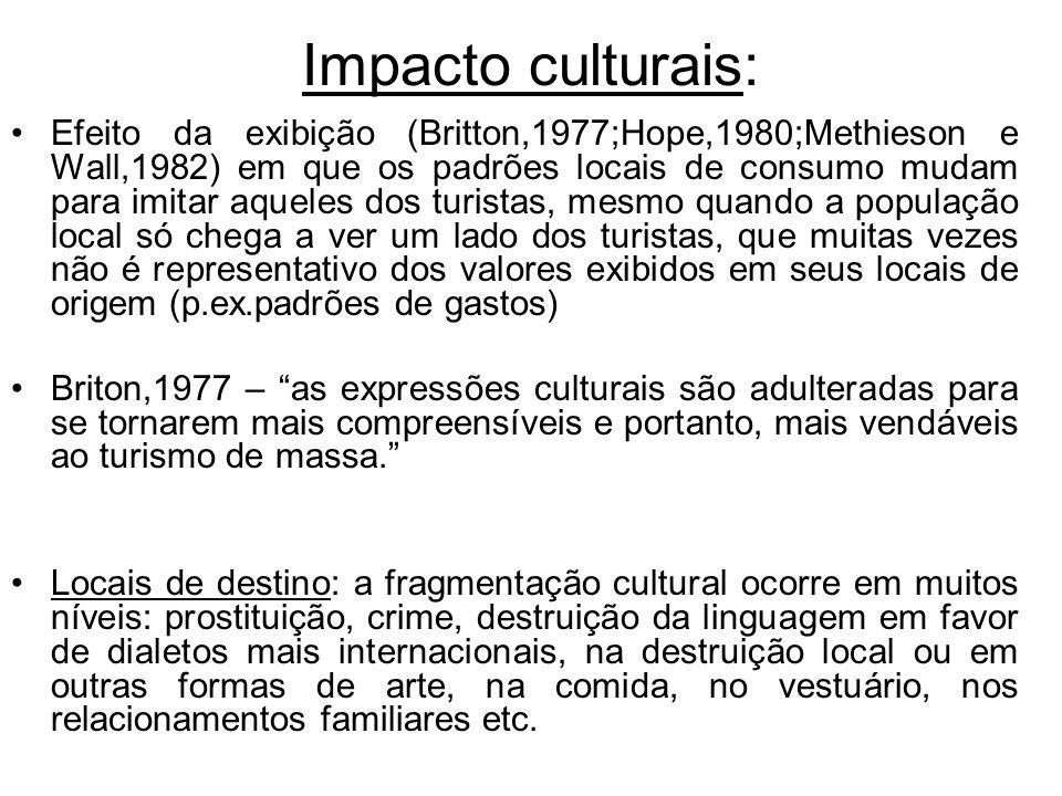 Impacto culturais: