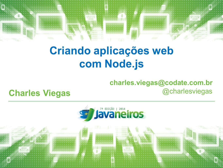 Criando aplicações web com Node.js