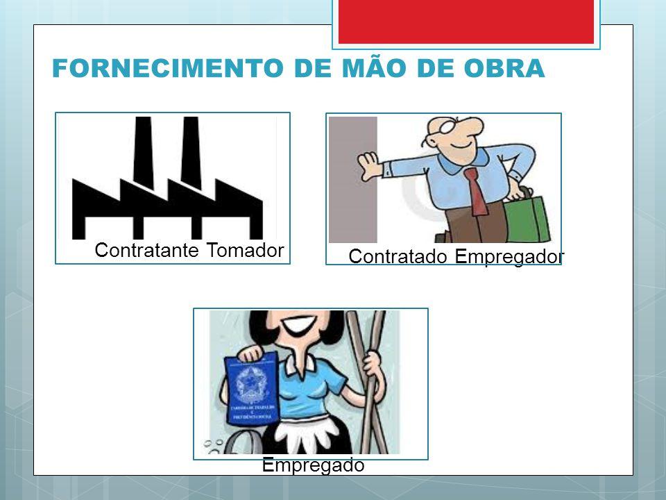 FORNECIMENTO DE MÃO DE OBRA