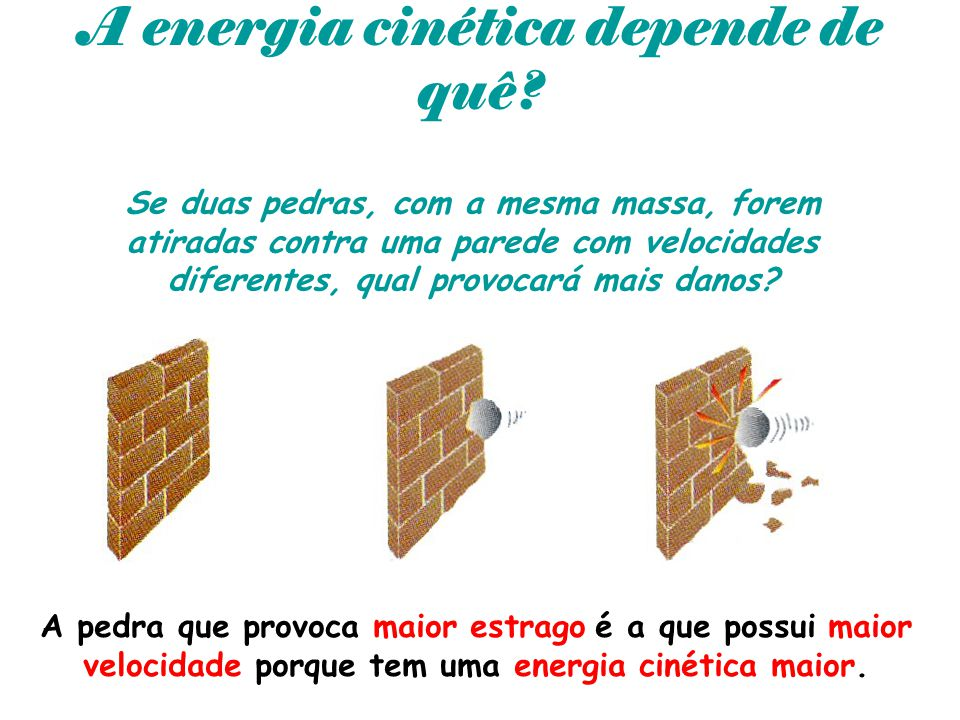A energia cinética depende de quê