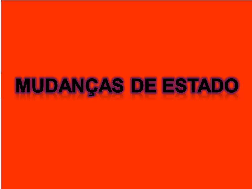 MUDANÇAS DE ESTADO