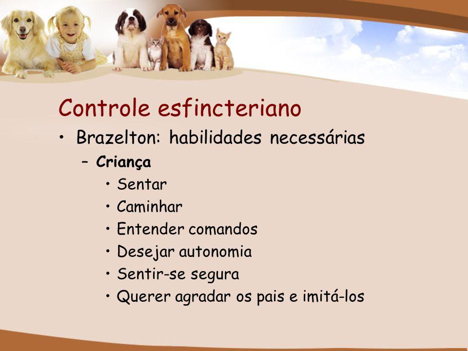 Controle esfincteriano