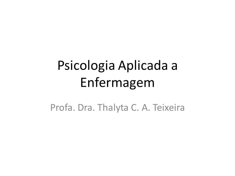 Psicologia Aplicada a Enfermagem