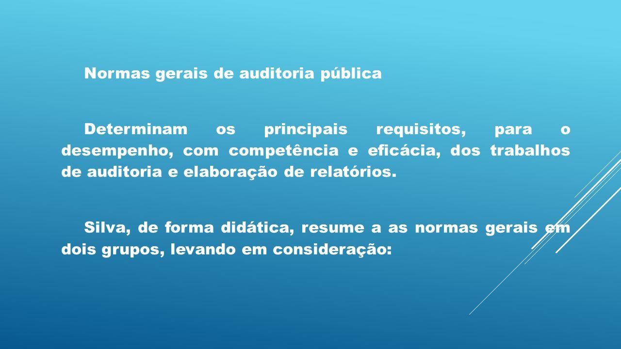 Normas gerais de auditoria pública