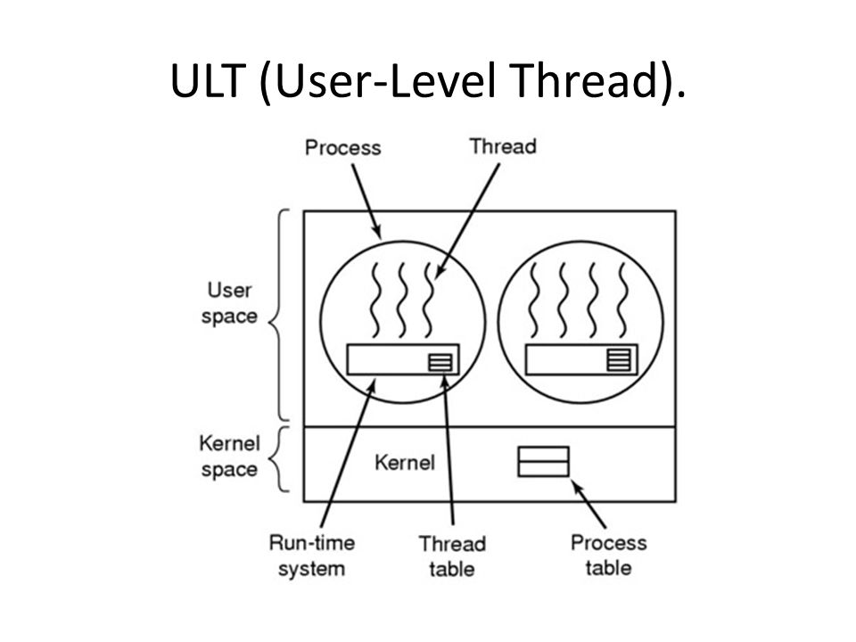 ULT (User-Level Thread).