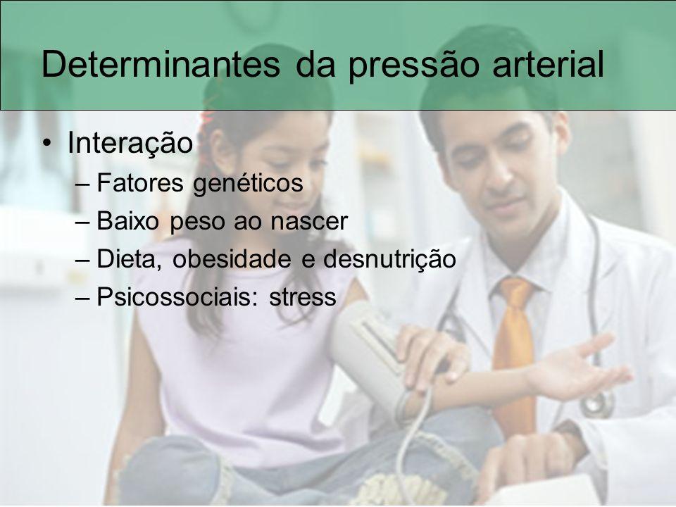 Determinantes da pressão arterial