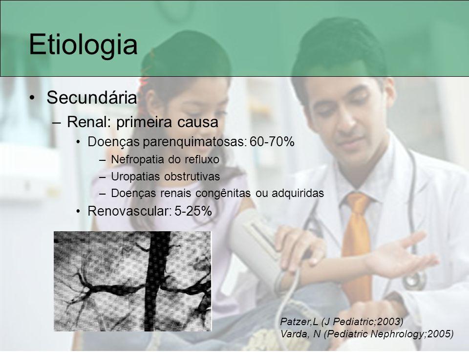 Etiologia Secundária Renal: primeira causa