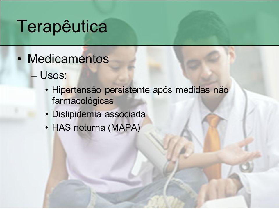 Terapêutica Medicamentos Usos: