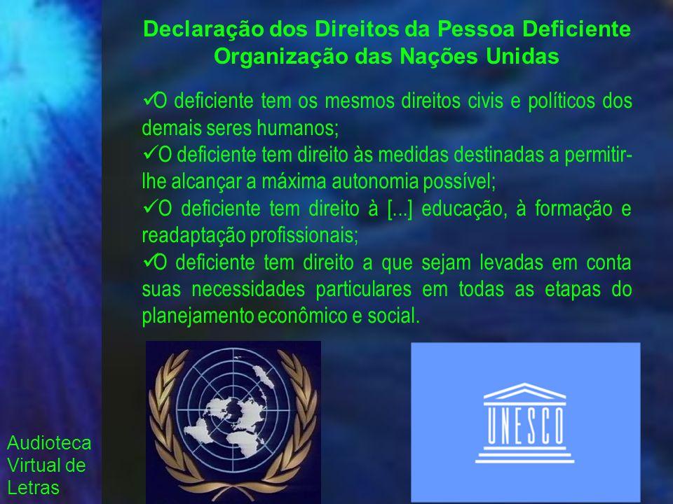 Declaração dos Direitos da Pessoa Deficiente