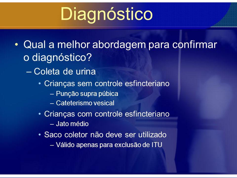 Diagnóstico Qual a melhor abordagem para confirmar o diagnóstico