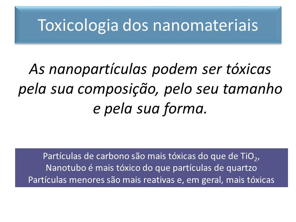 Toxicologia dos nanomateriais