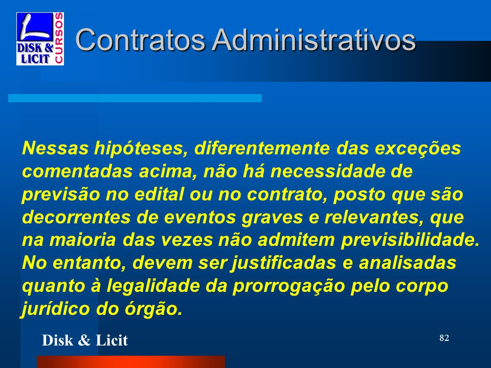 Contratos Administrativos