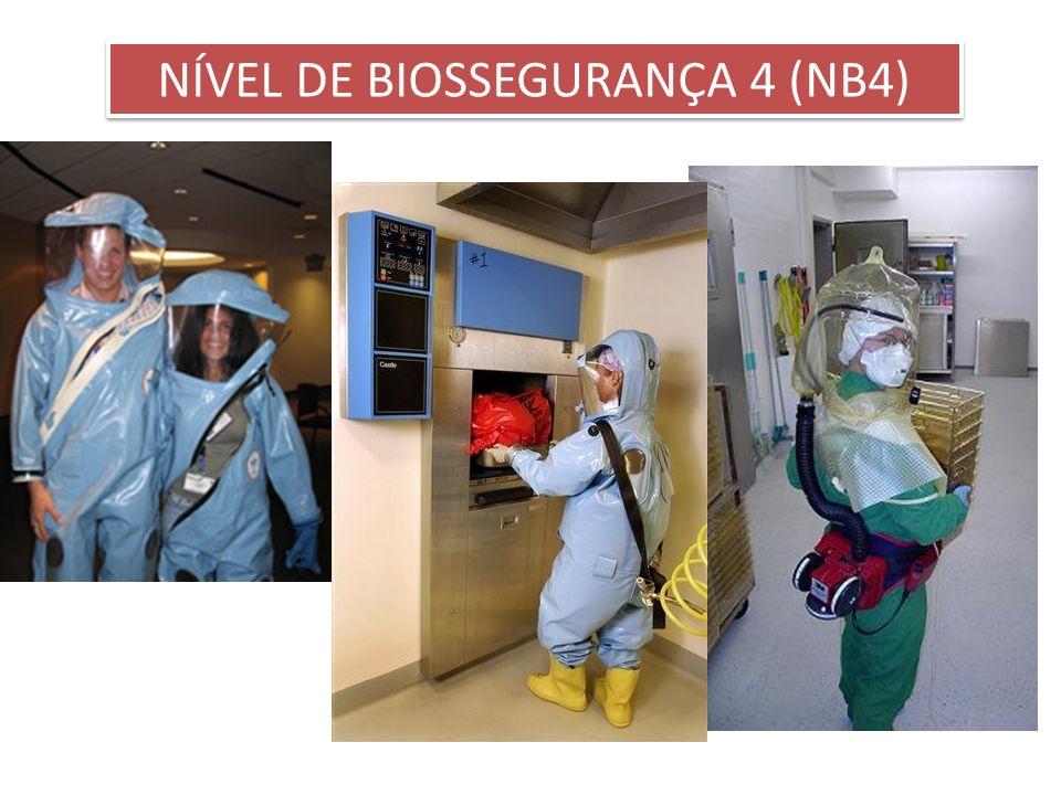 NÍVEL DE BIOSSEGURANÇA 4 (NB4)