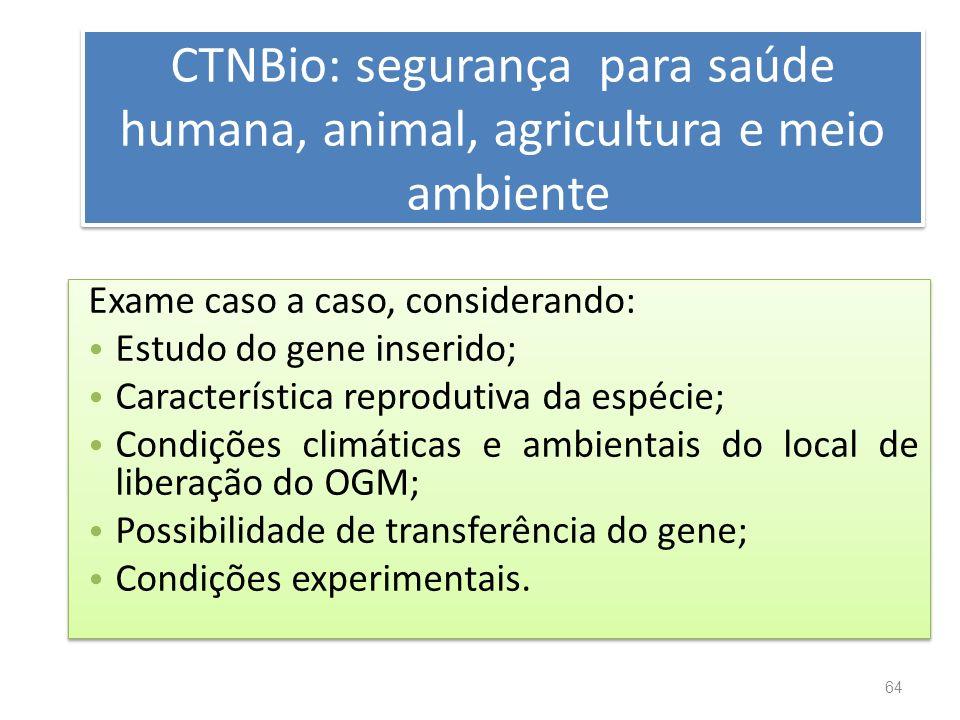 CTNBio: segurança para saúde humana, animal, agricultura e meio ambiente