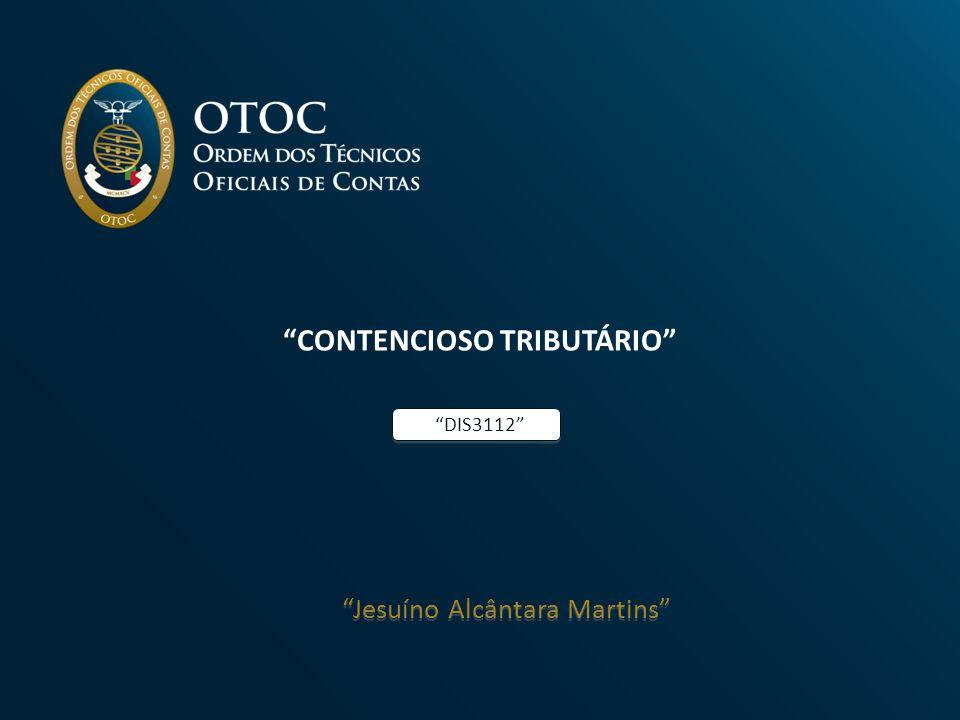 CONTENCIOSO TRIBUTÁRIO