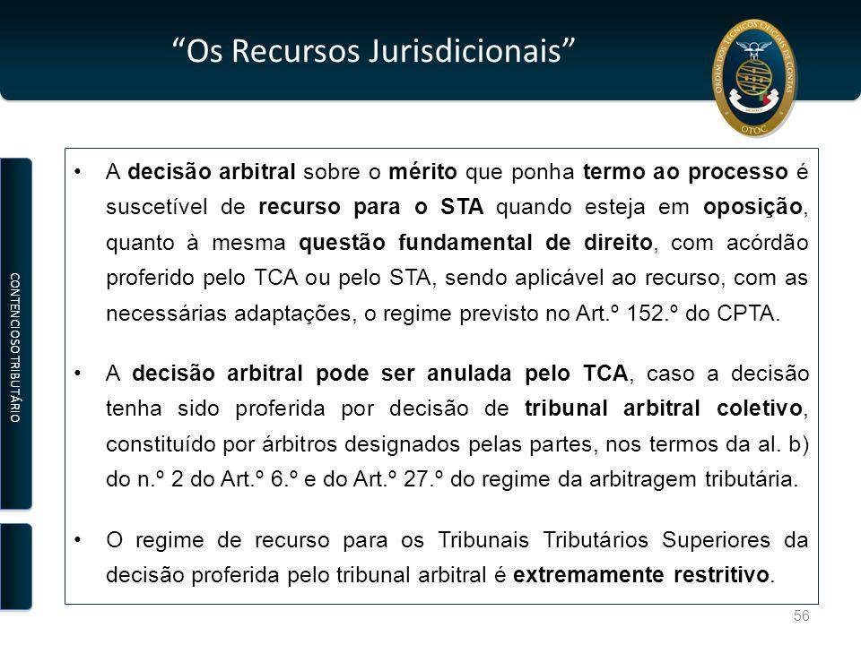 Os Recursos Jurisdicionais