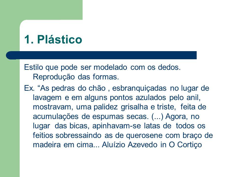 1. Plástico Estilo que pode ser modelado com os dedos. Reprodução das formas.