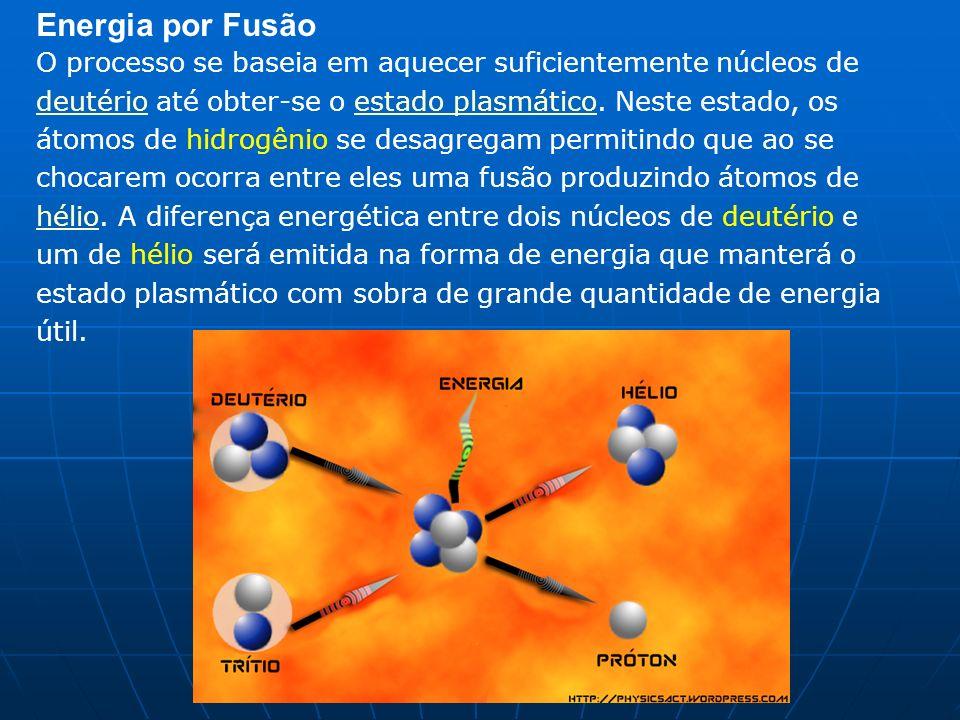 Energia por Fusão