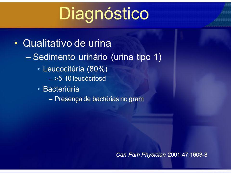 Diagnóstico Qualitativo de urina Sedimento urinário (urina tipo 1)
