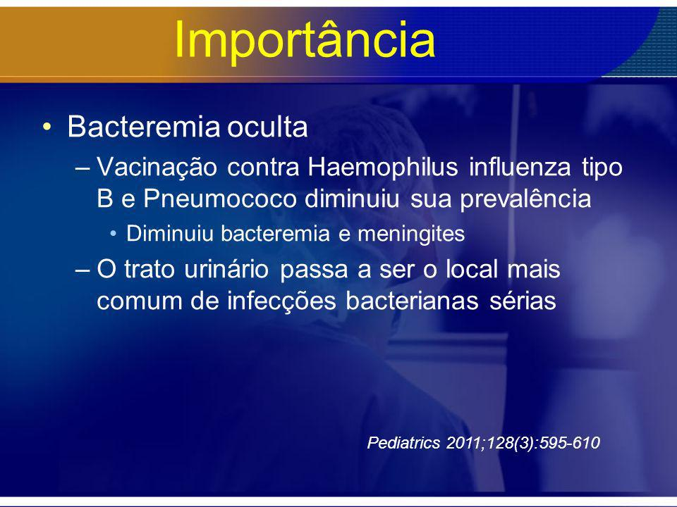 Importância Bacteremia oculta