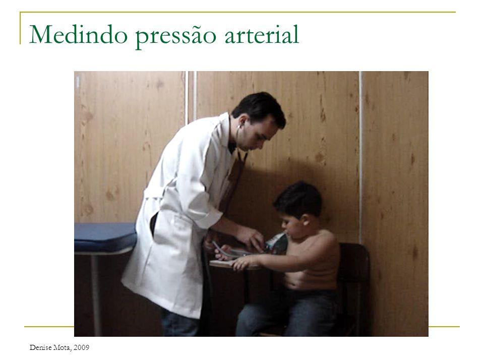 Medindo pressão arterial