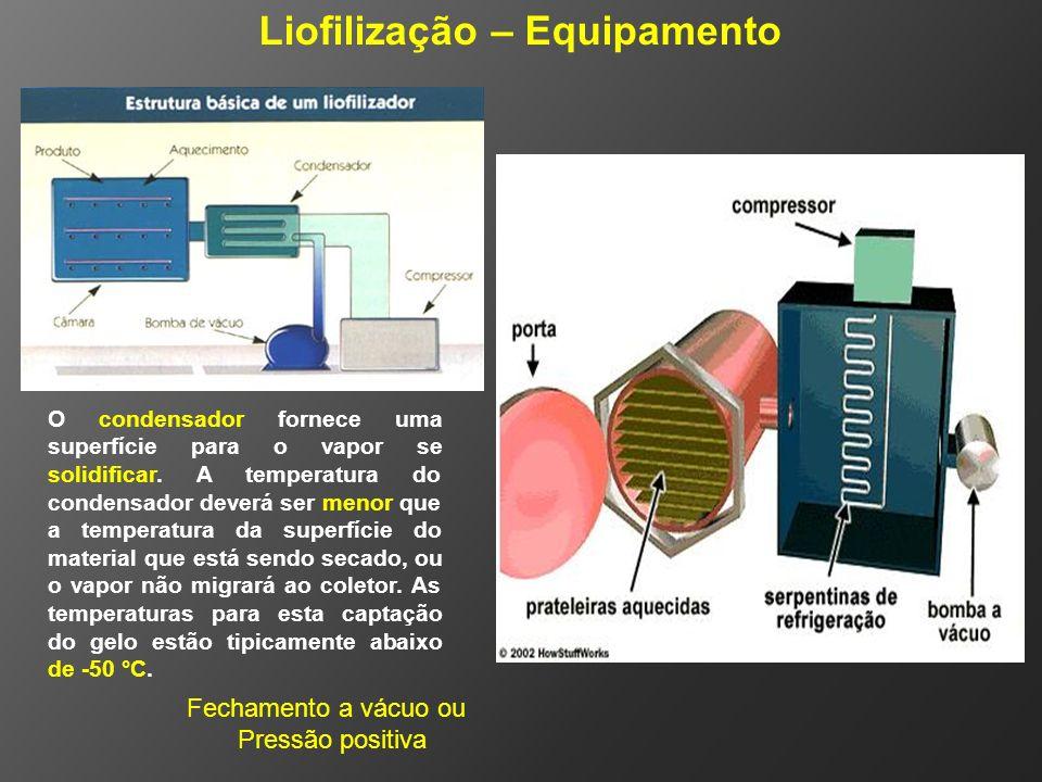 Liofilização – Equipamento