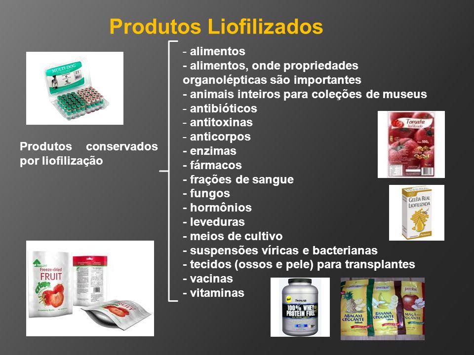 Produtos Liofilizados