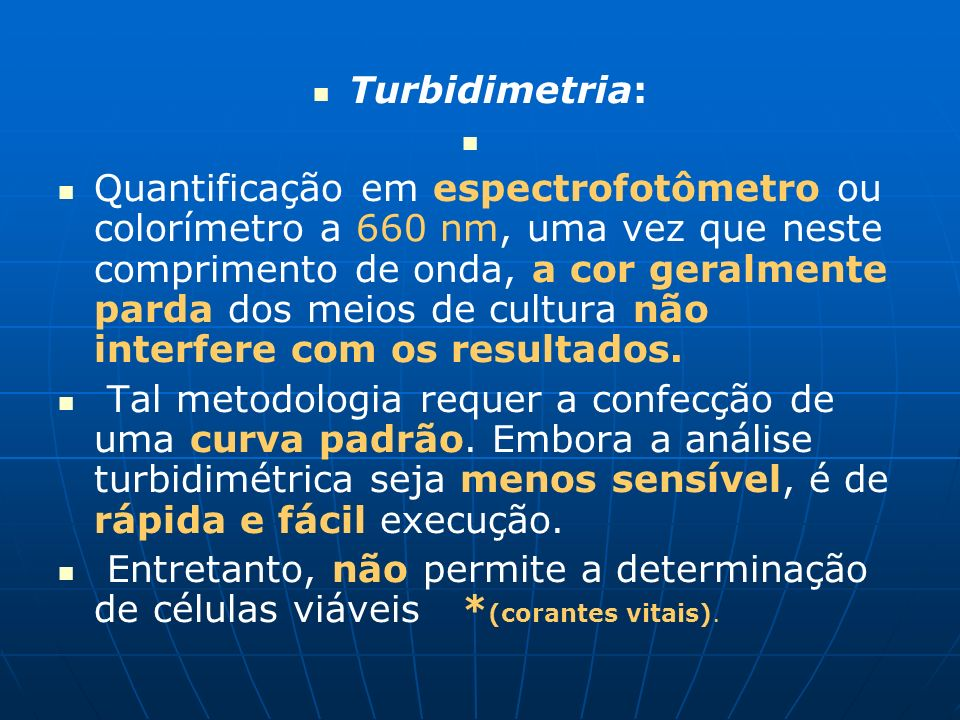 Turbidimetria: