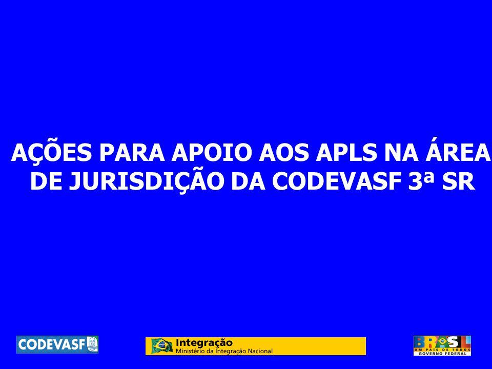 DE JURISDIÇÃO DA CODEVASF 3ª SR