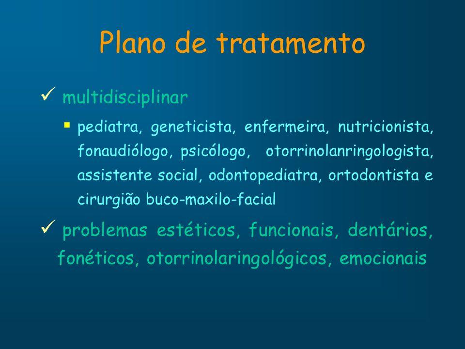 Plano de tratamento multidisciplinar