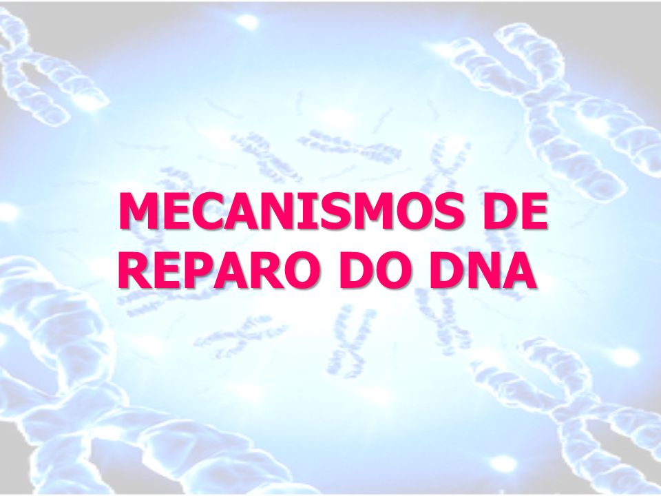 MECANISMOS DE REPARO DO DNA