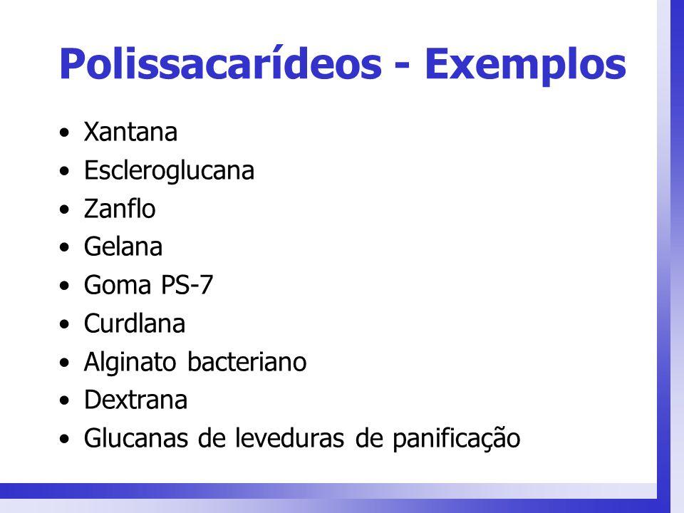 Polissacarídeos - Exemplos