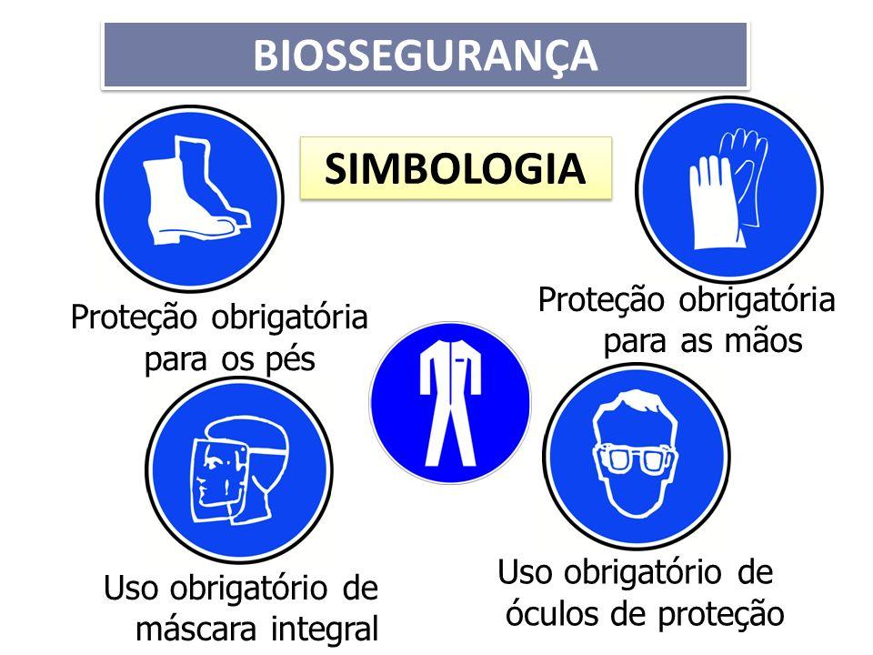 BIOSSEGURANÇA SIMBOLOGIA