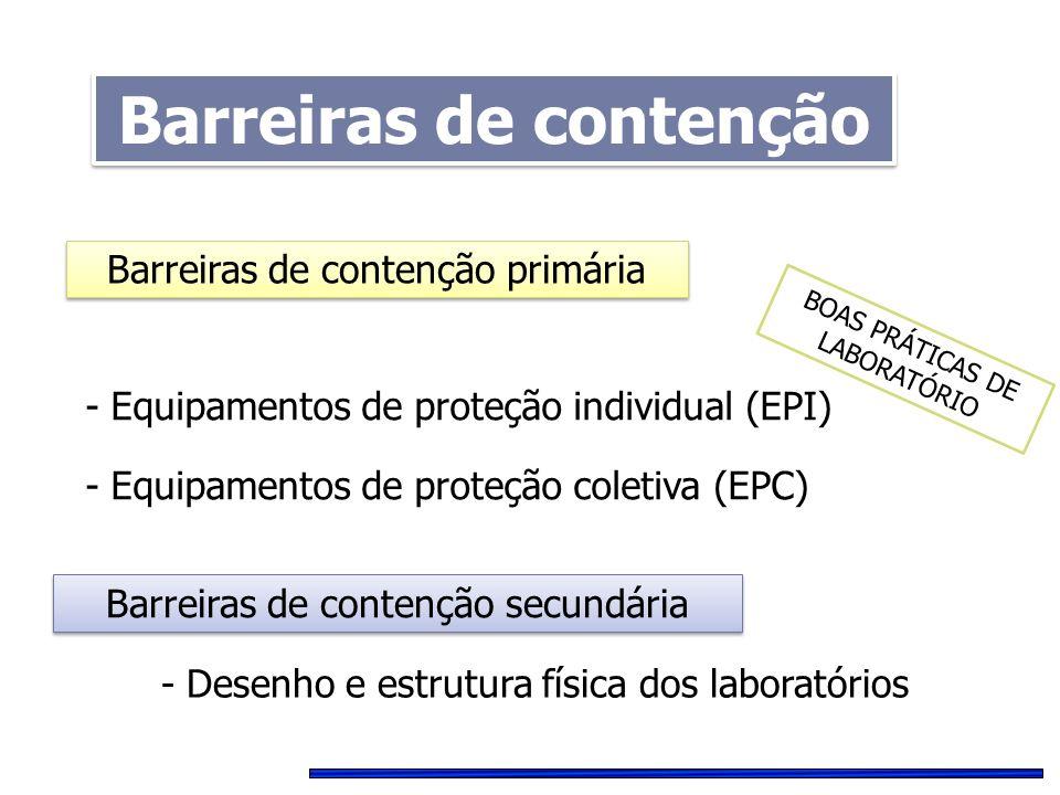 Barreiras de contenção