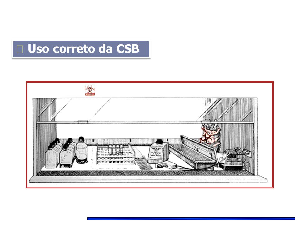  Uso correto da CSB