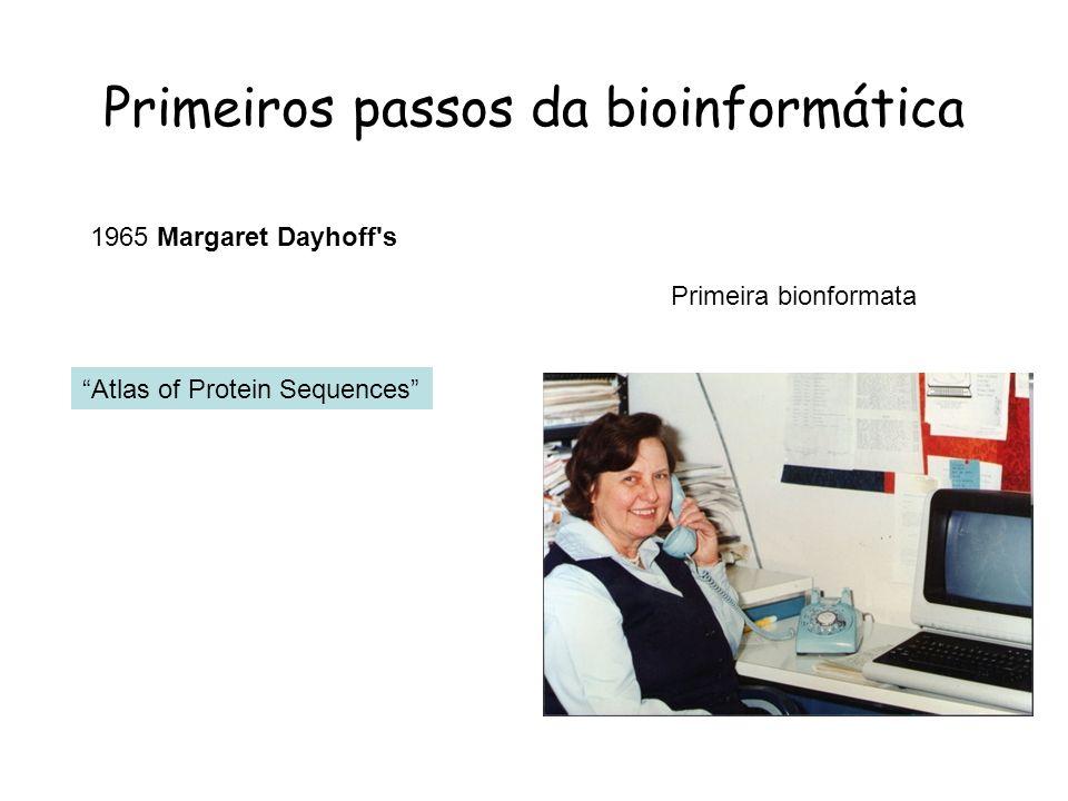 Primeiros passos da bioinformática