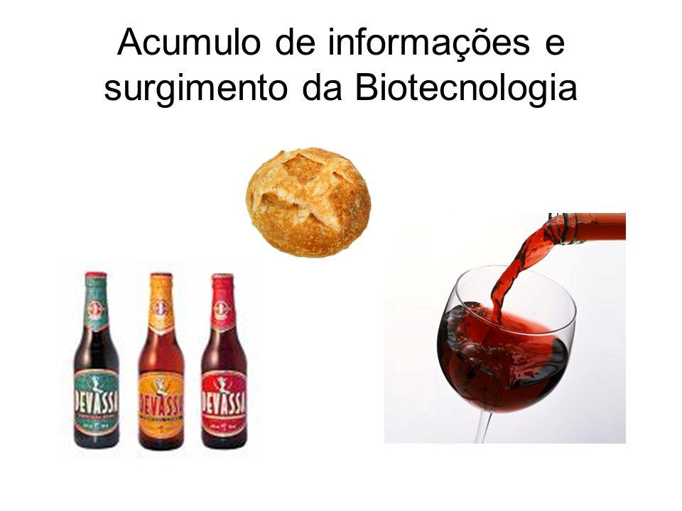 Acumulo de informações e surgimento da Biotecnologia
