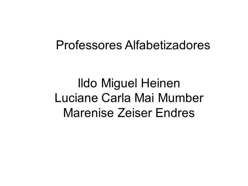 Professores Alfabetizadores