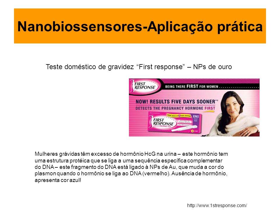 Nanobiossensores-Aplicação prática