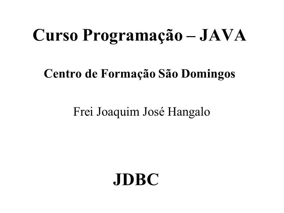 Curso Programação – JAVA Centro de Formação São Domingos