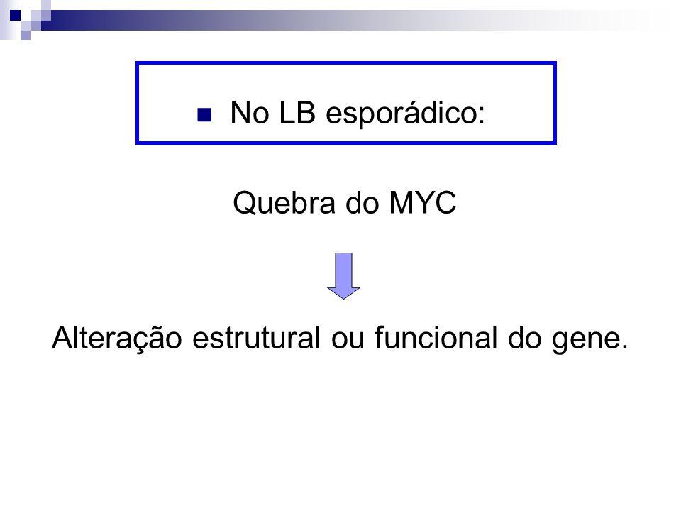 Alteração estrutural ou funcional do gene.